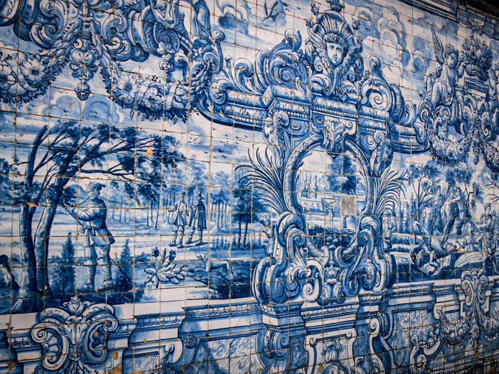 Azulejos - Cathédrale de Porto