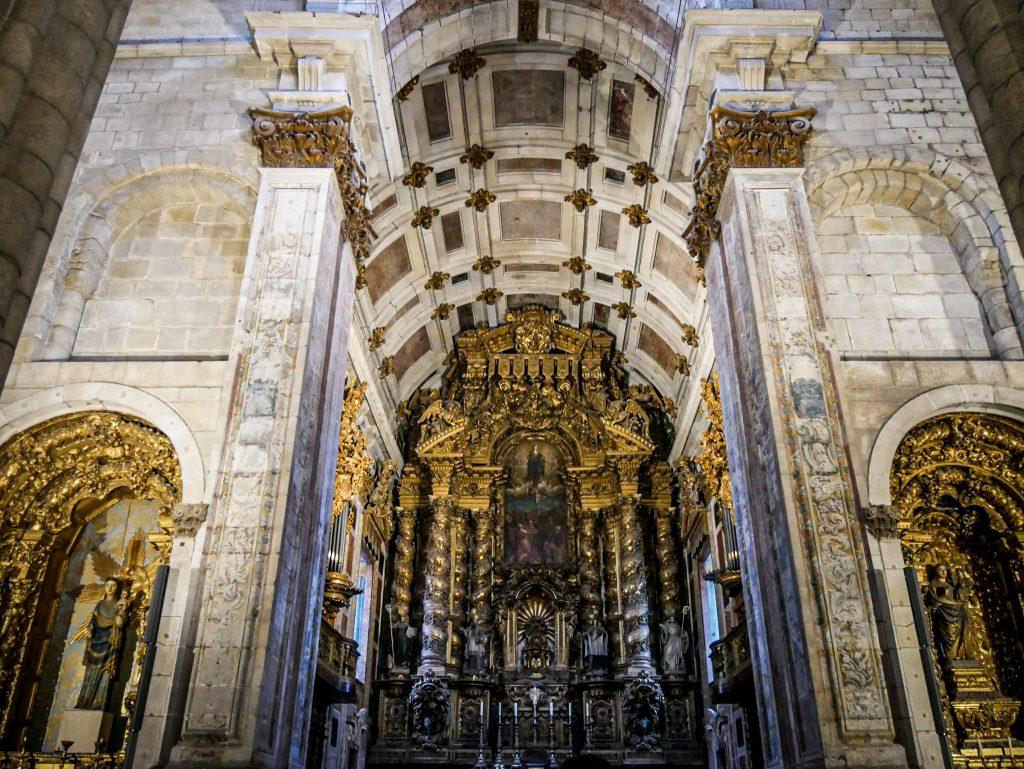 Maître-autel de la Cathédrale de Porto