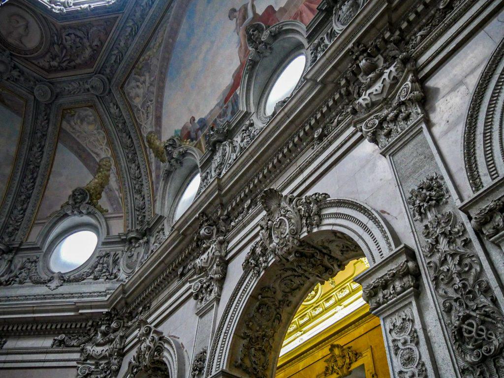 Palacio da Bolsa - Grand escalier - plafond
