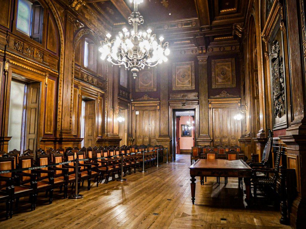 Palacio da Bolsa - salle des assemblées générales