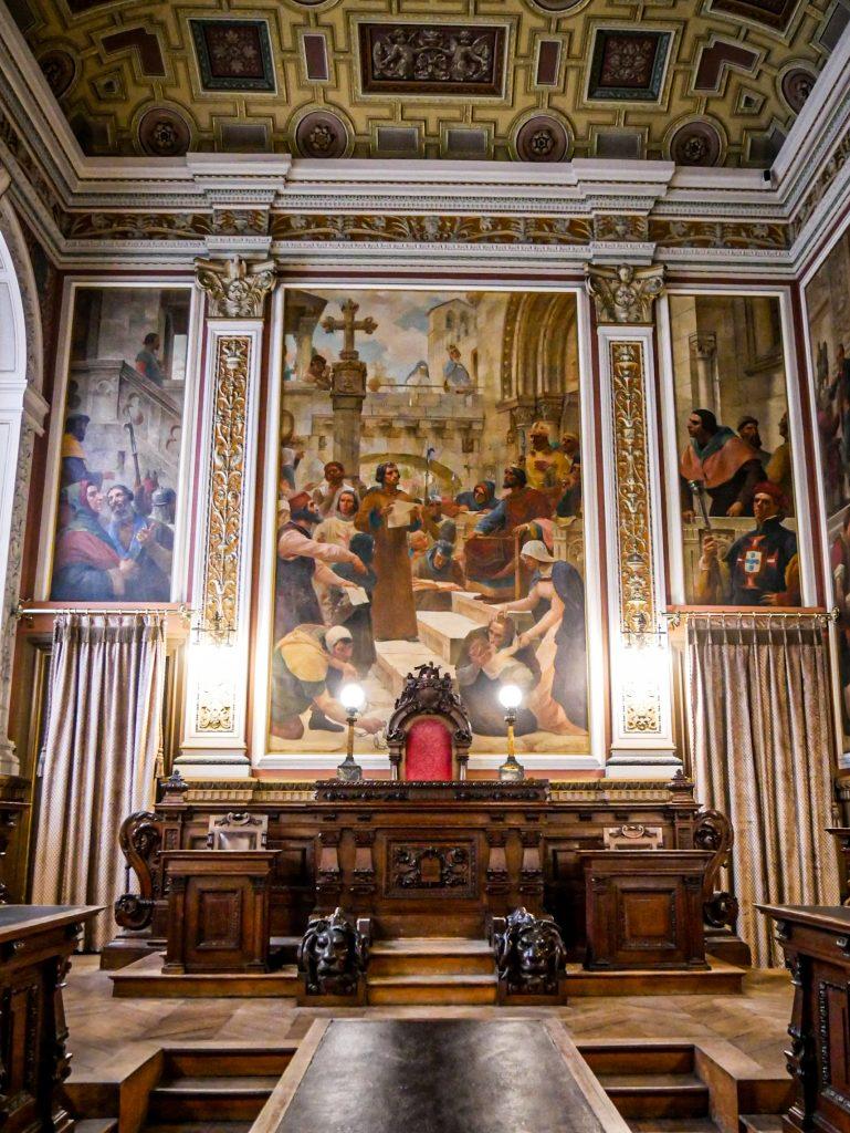 Palacio da Bolsa - salle des audiences solennelles
