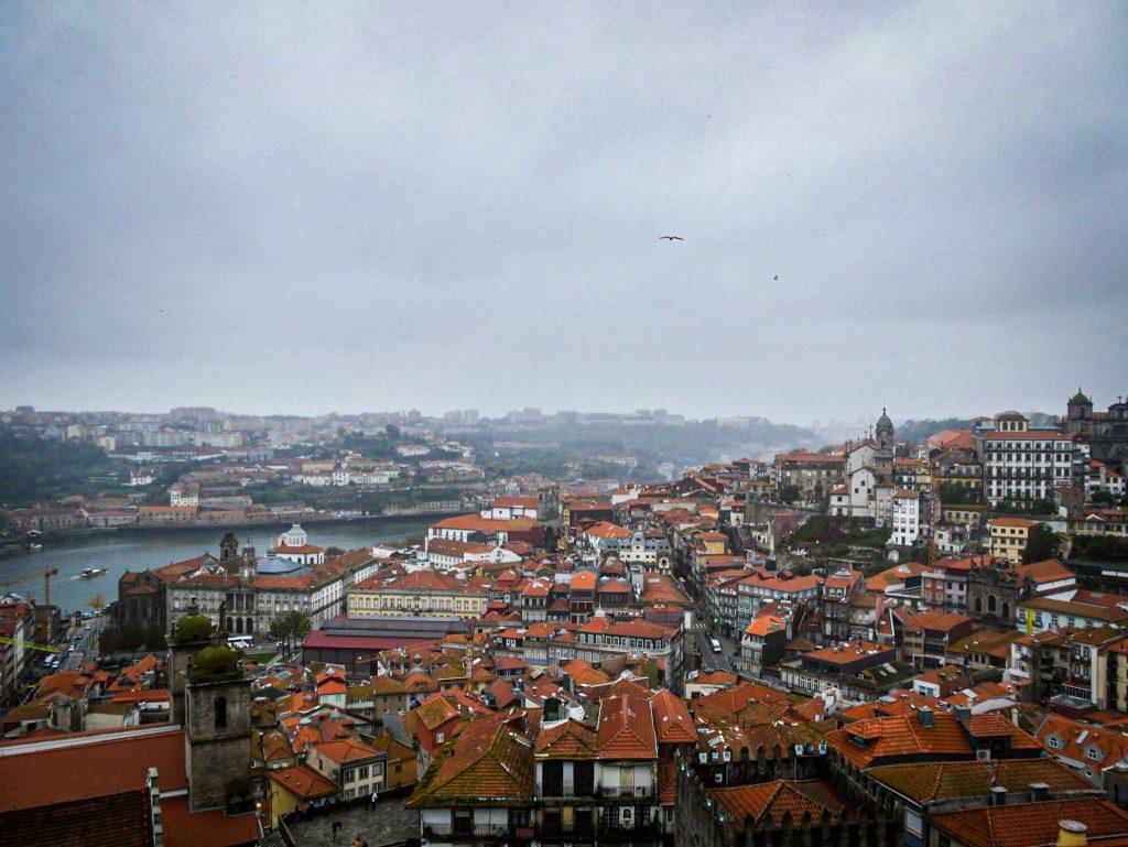 Panorama depuis la Cathédrale de Porto