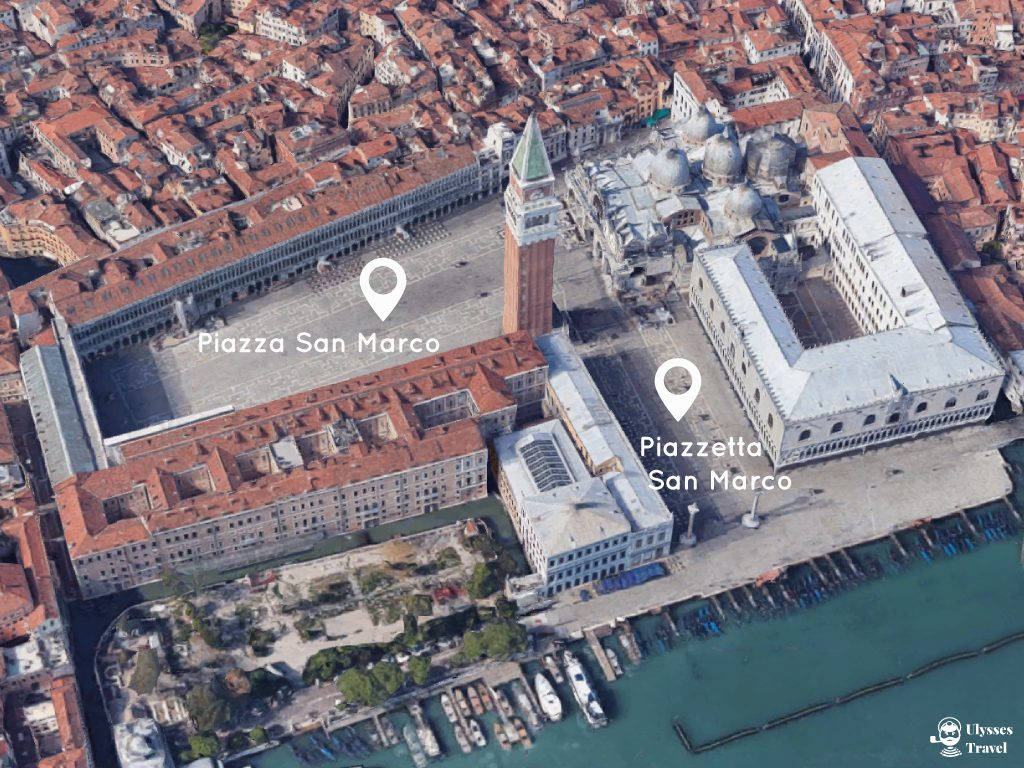 Map of St. Mark's Square