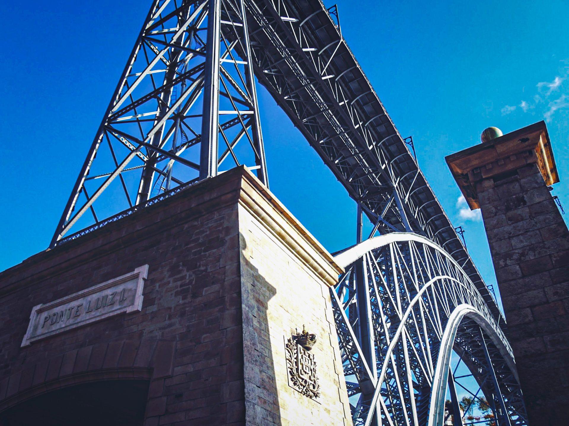 Pont Dom Luis - Porto - structure