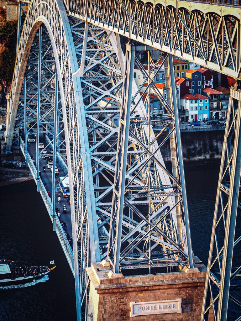 Pont Dom Luis - structure