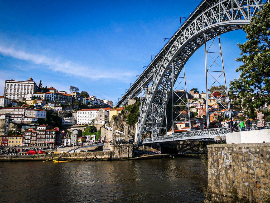 Pont Luis I vu depuis Vila Nova de Gaia