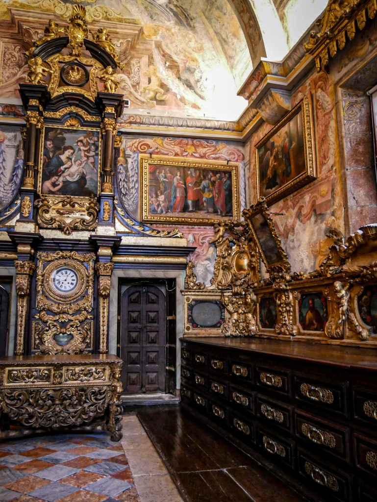 Sacristie de la Sé, la Cathédrale de Porto