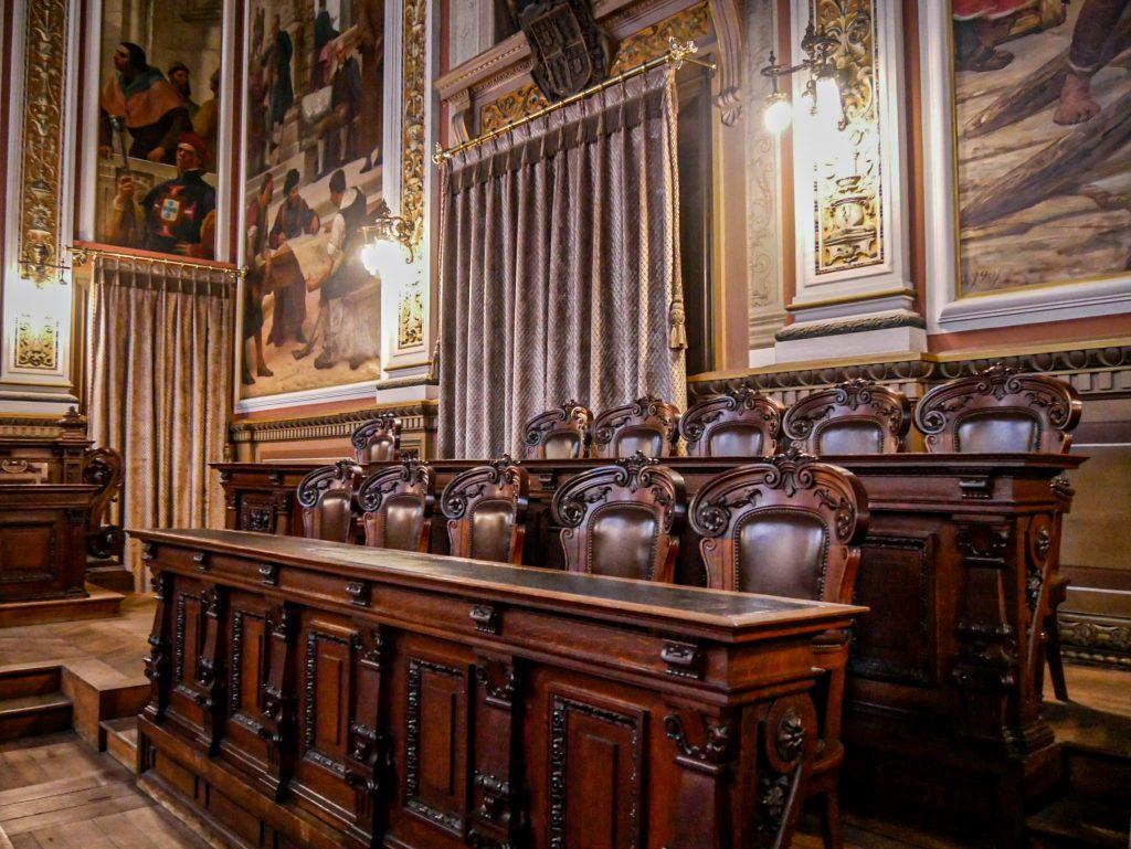 Salle des audiences solennelles du Palacio da Bolsa