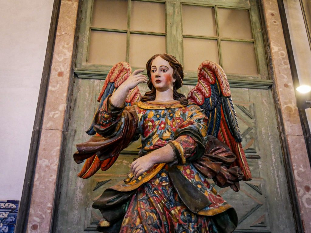 Statue - cathédrale de Porto