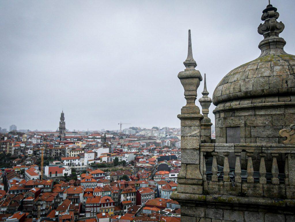 Vue depuis la Cathédrale de Porto
