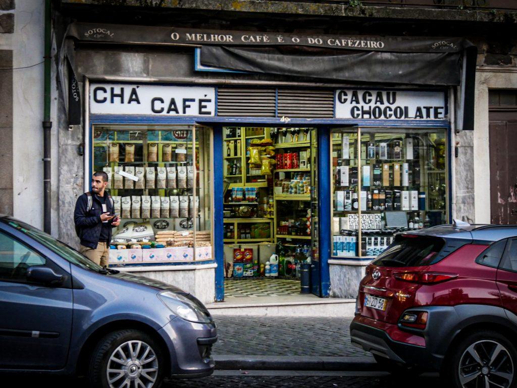 Café - La Ribeira - Porto
