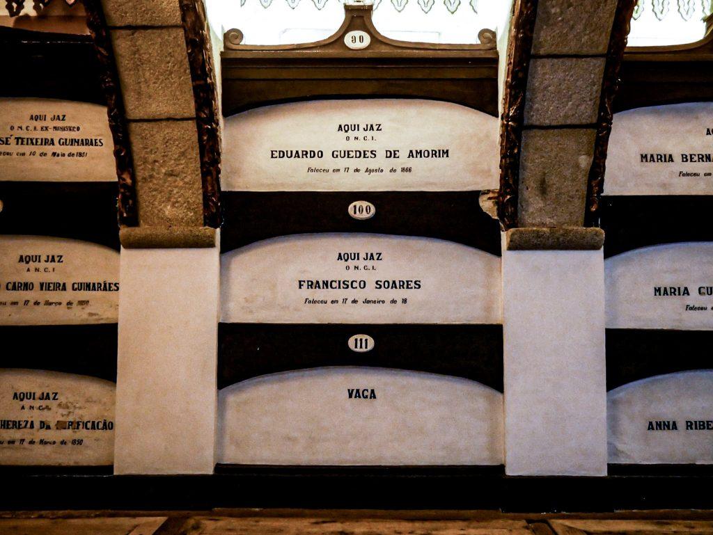 Église São Francisco Porto - catacombes