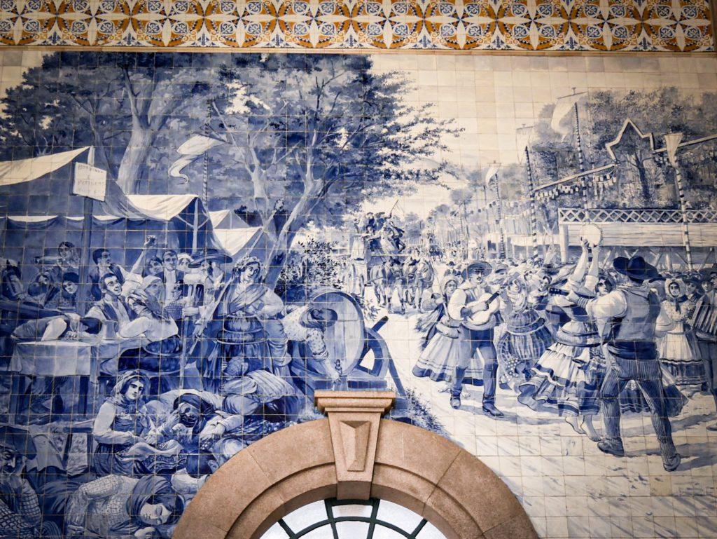 Gare de São Bento Porto - azulejos