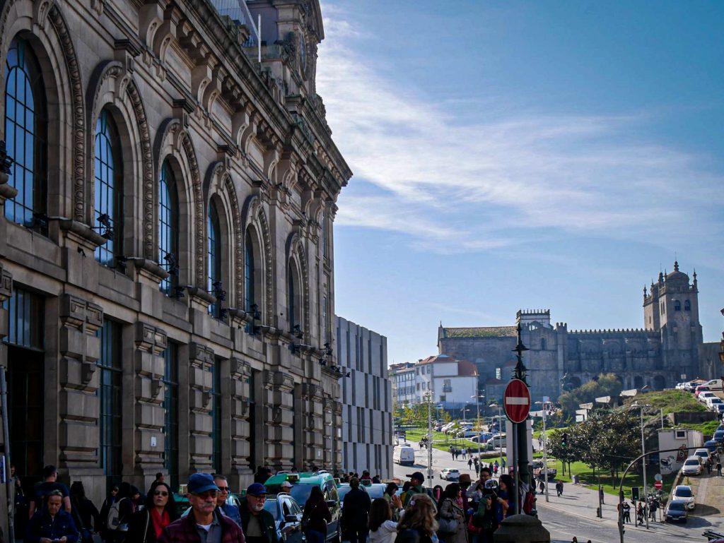 Gare de São Bento Porto - façade