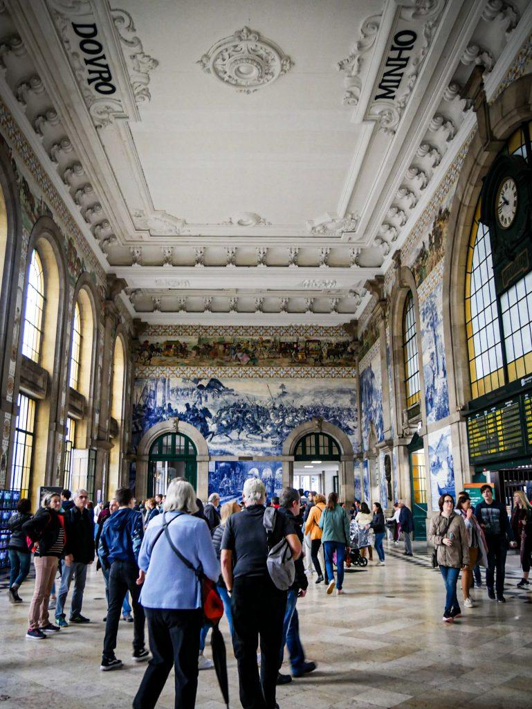 Hall de la Gare de São Bento à Porto