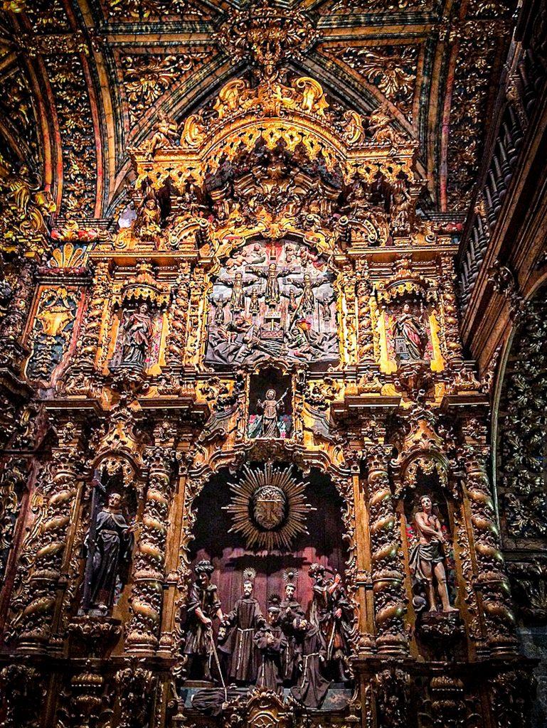 Intérieur de l'Église São Francisco de Porto