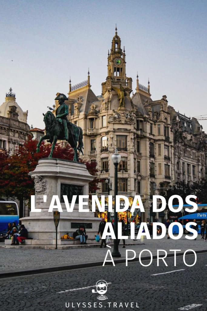 L'Avenida dos Aliados à Porto