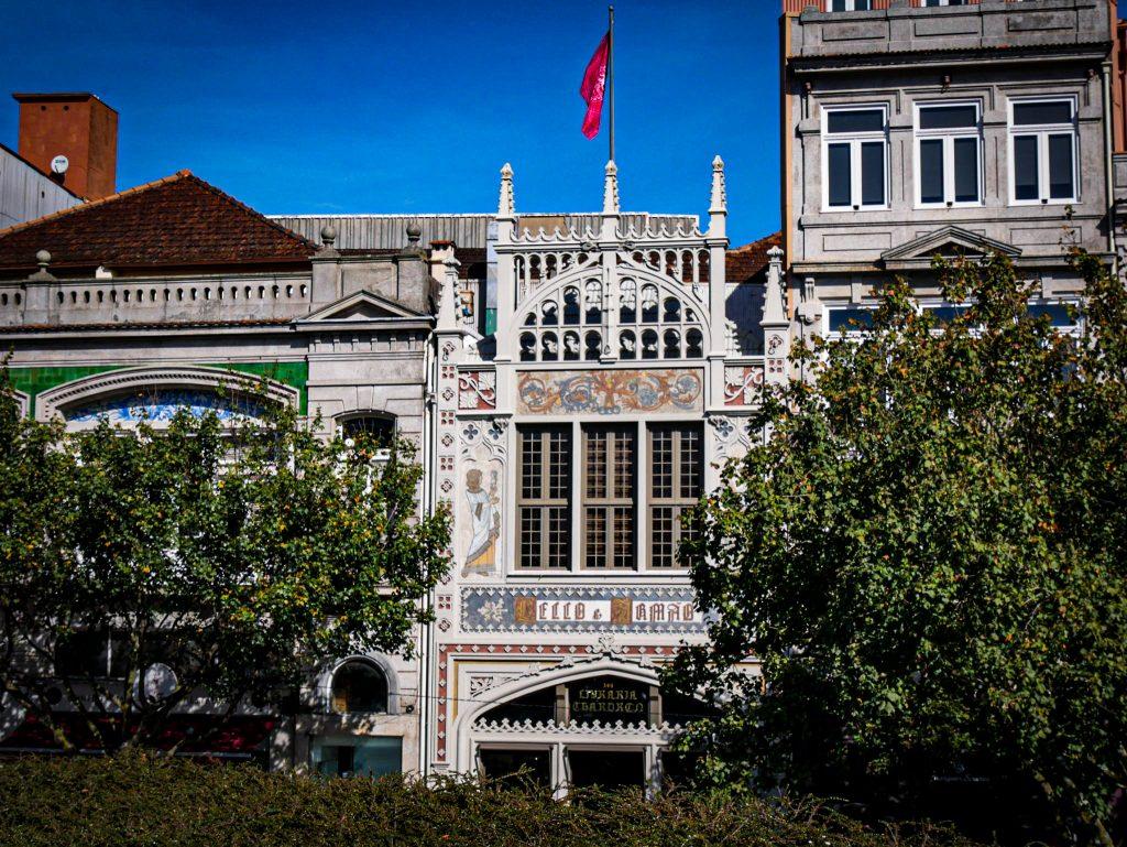 Librairie Lello Porto façade