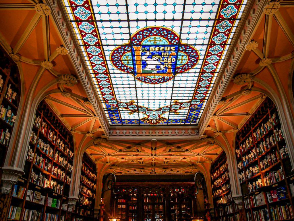 Librairie Lello Porto - vitrail