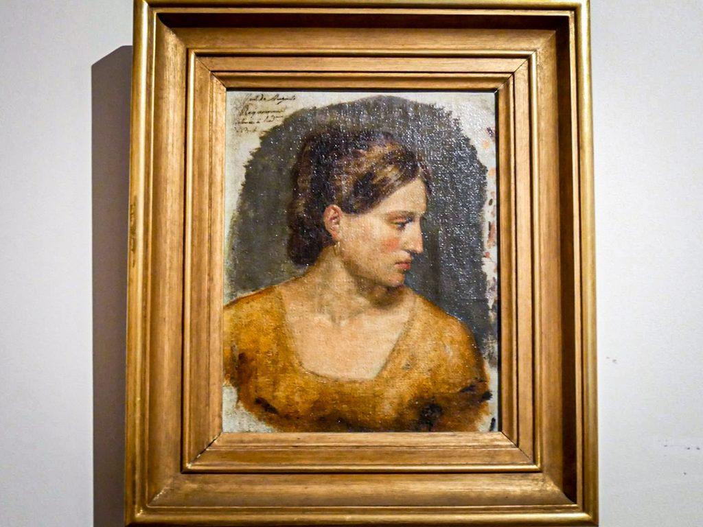 Musée Soares dos Reis - portrait d'une femme