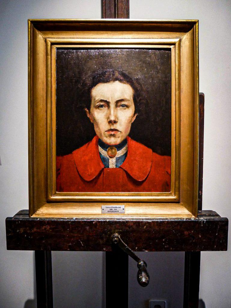 Musée Soares dos Reis - portrait sur chevalet
