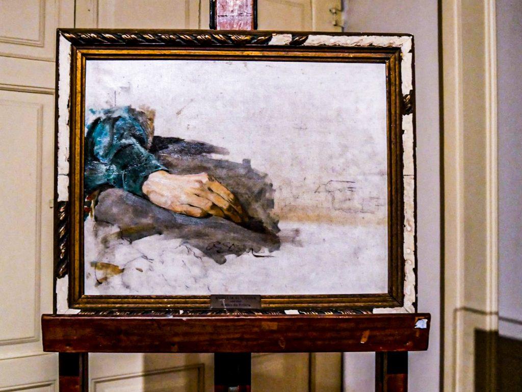 Musée Soares dos Reis - tableau inachevé