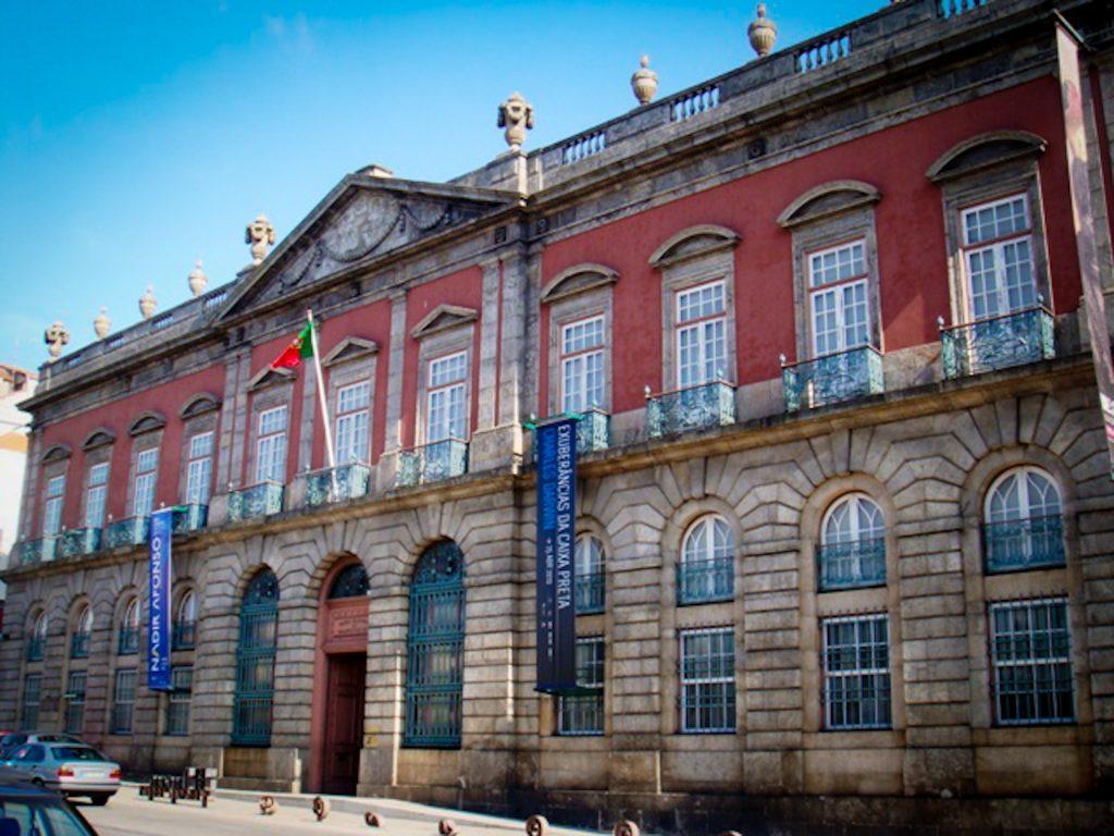 Musée national Soares dos Reis - façade Palais des Carrancas
