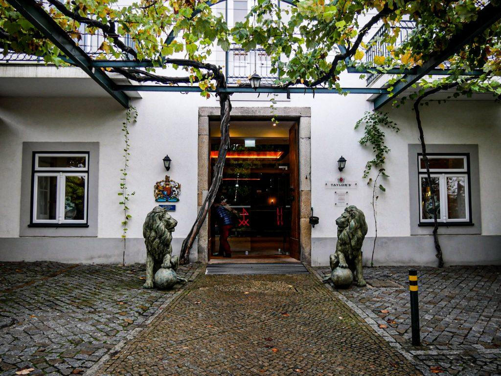 Entrée de Taylor's - Vila Nova de Gaia - Porto