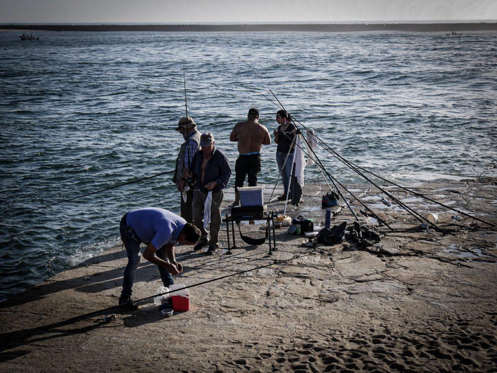 Foz do Douro - pêcheurs
