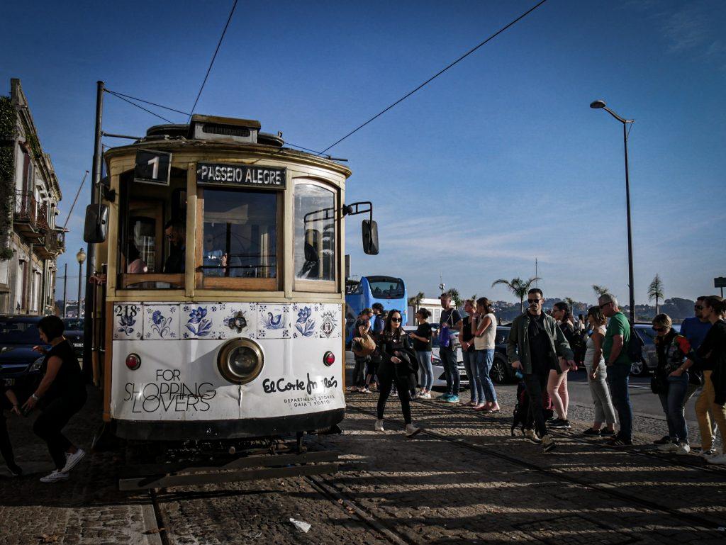 Foz do Douro - tramway