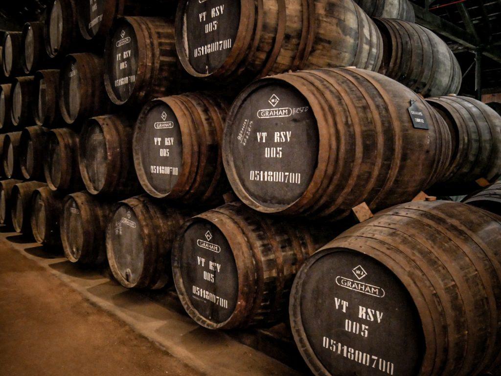 Fût de vin de Porto - Graham's