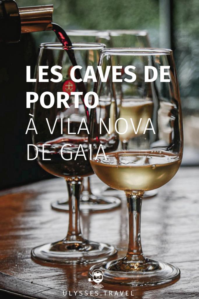 Les caves de porto à Vila Nova de Gaia
