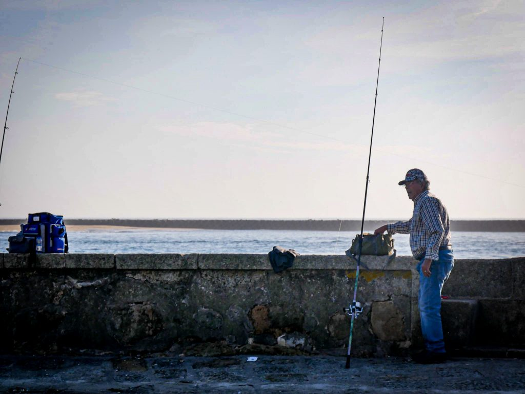Pêcheur à Foz do Douro - Porto