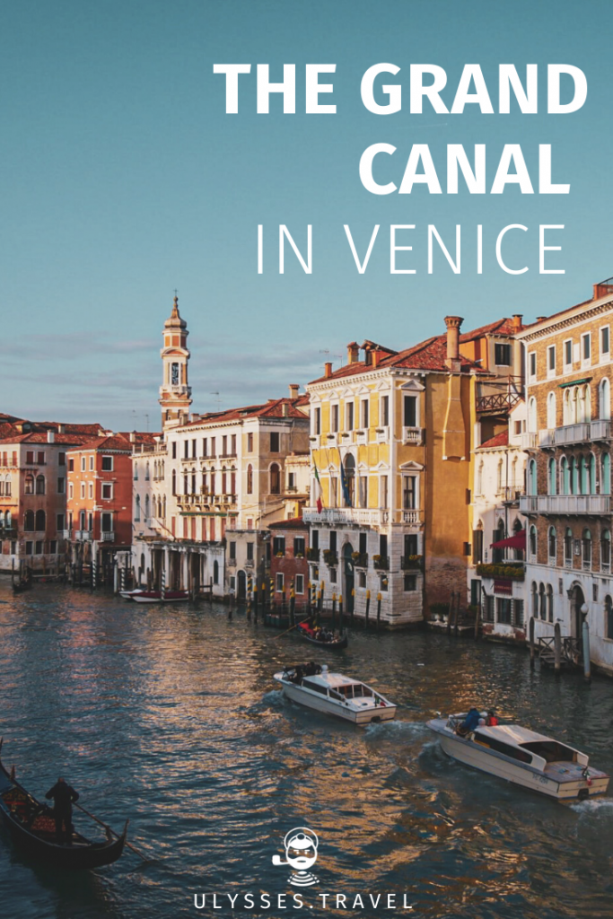 The Grand Canal in Venice - Pinterest