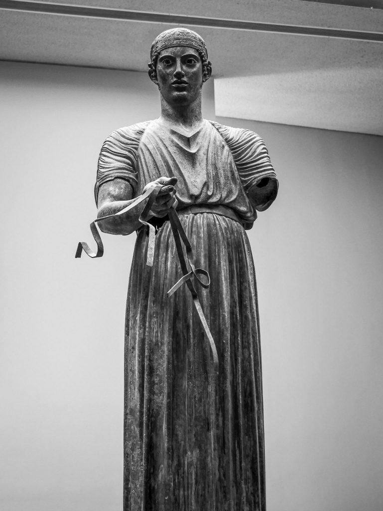 Aurige - Musée archéologique de Delphes