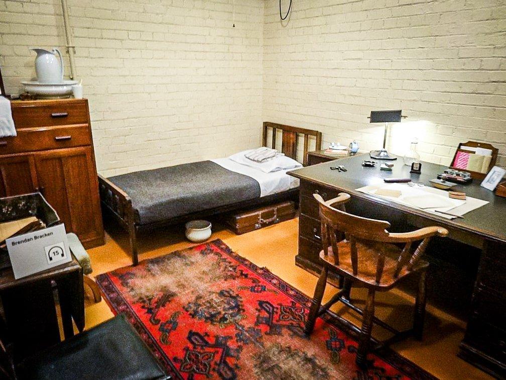 Churchill War Rooms- Chambre