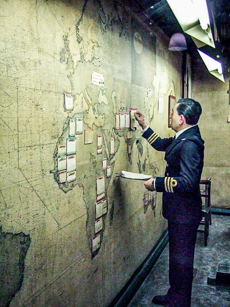 Churchill War Rooms - Map Room