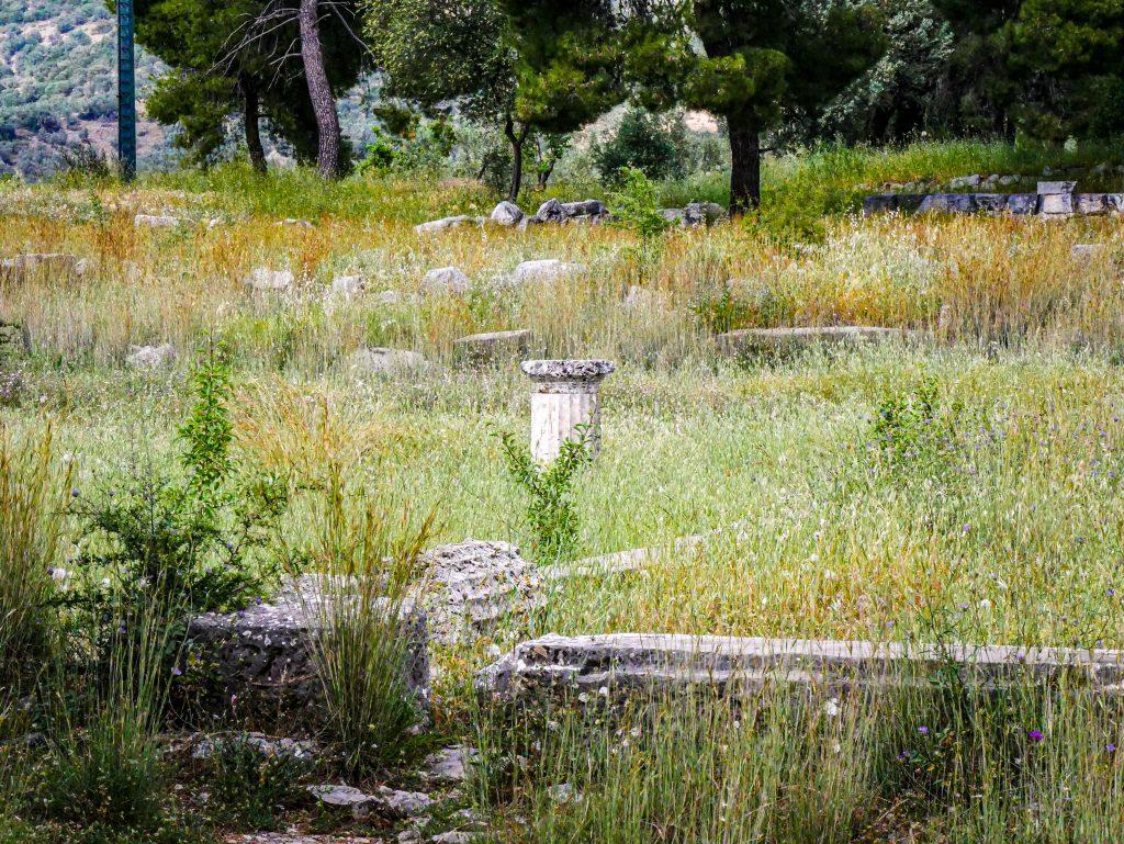 Colonne - Épidaure - Asclépios
