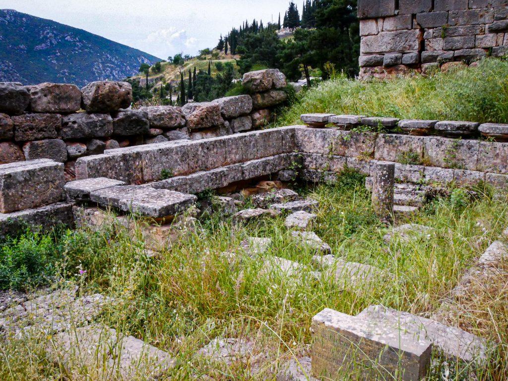 Delphes - ruines