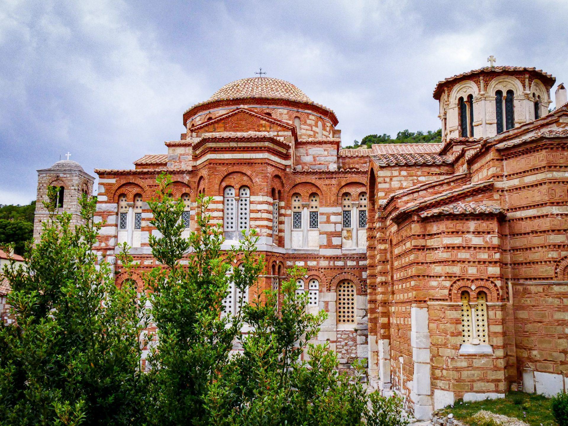 Grèce - monastère d'Ossios Loukas