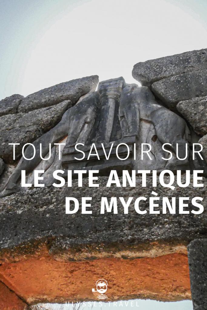 Mycènes - Pinterest