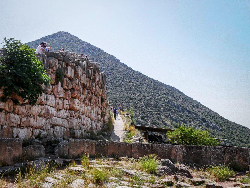 Mur cyclopéen - Mycènes