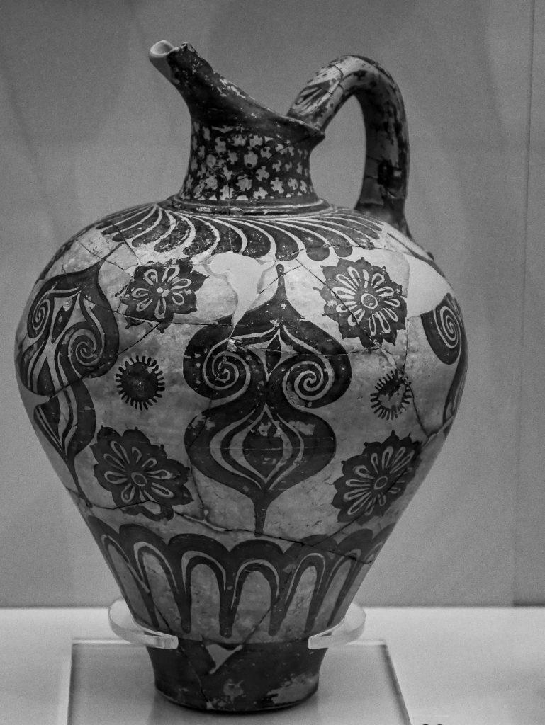 Musée archéologique de Mycènes - amphore