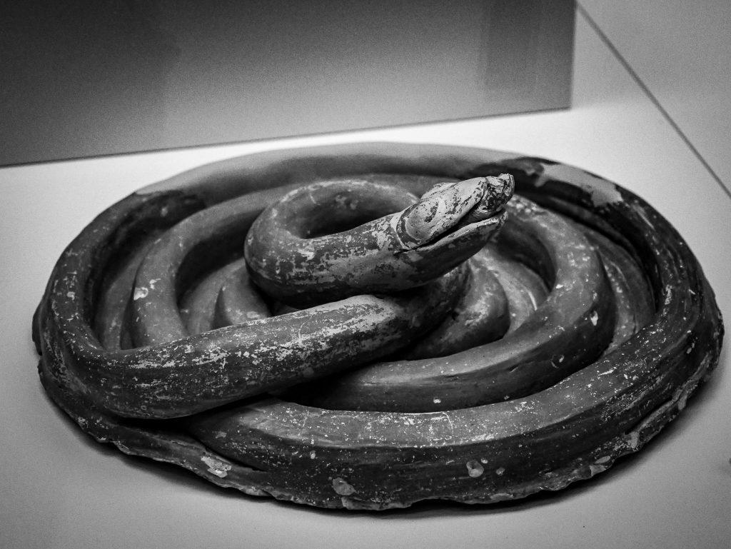 Musée archéologique de Mycènes - serpent