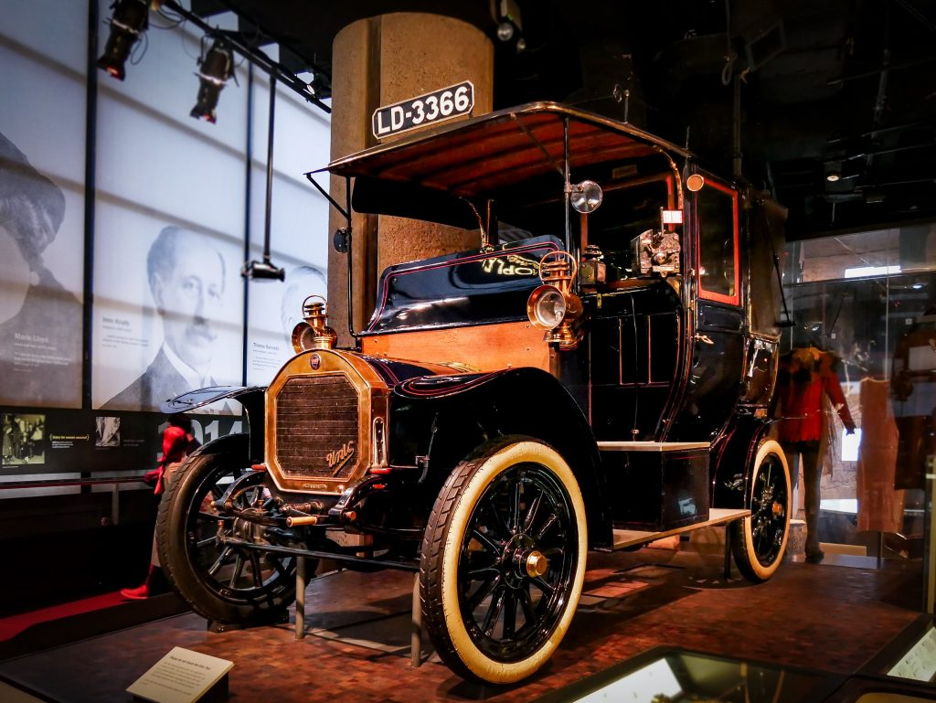 Museum of London - voiture