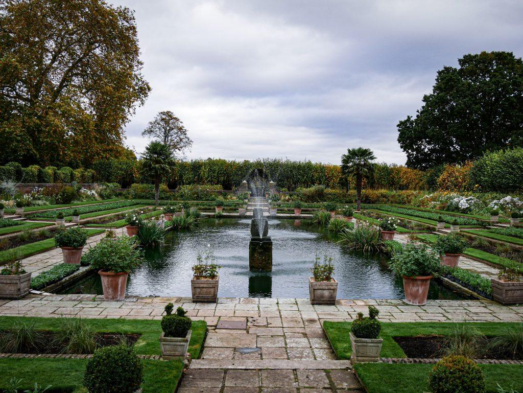 Palais de Kensington - sunken garden