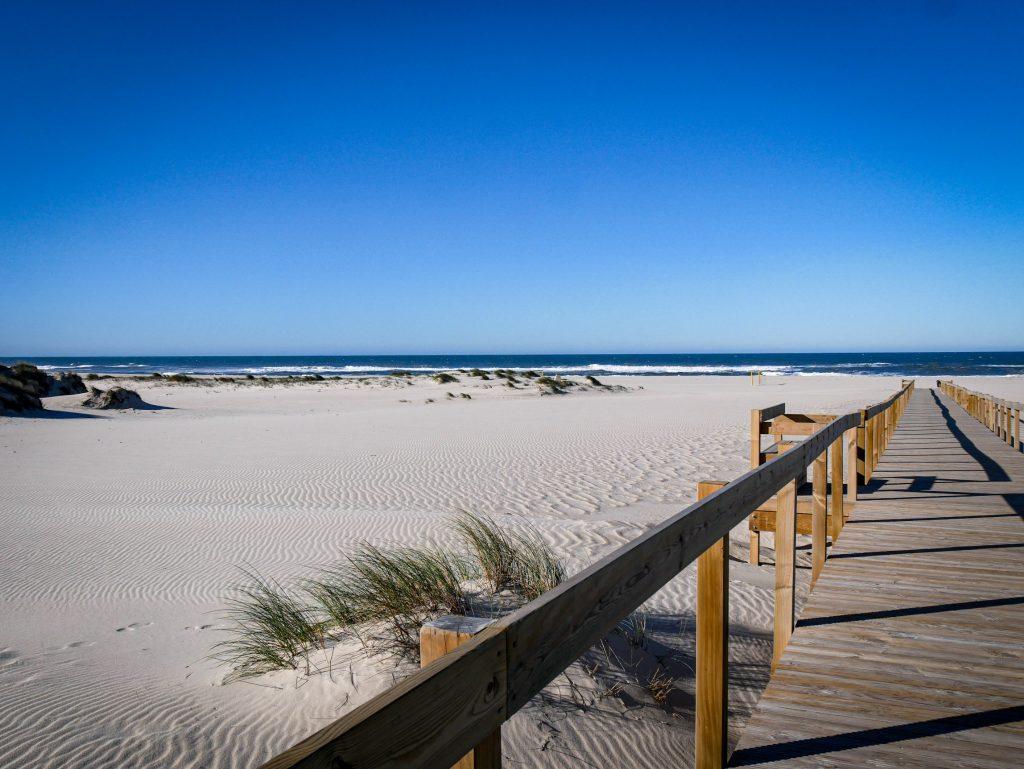 Praia de Sao Jacinto - Portugal