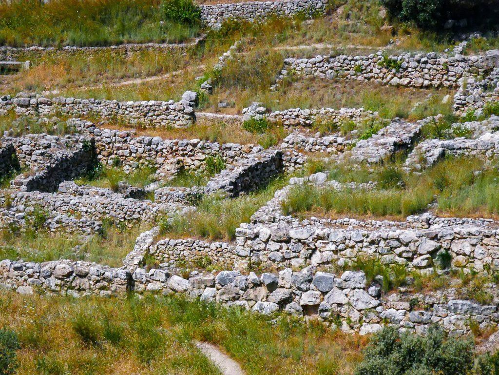 Ruines de Mycènes - Grèce