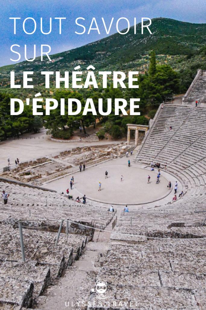 Théâtre d'Épidaure - Pinterest