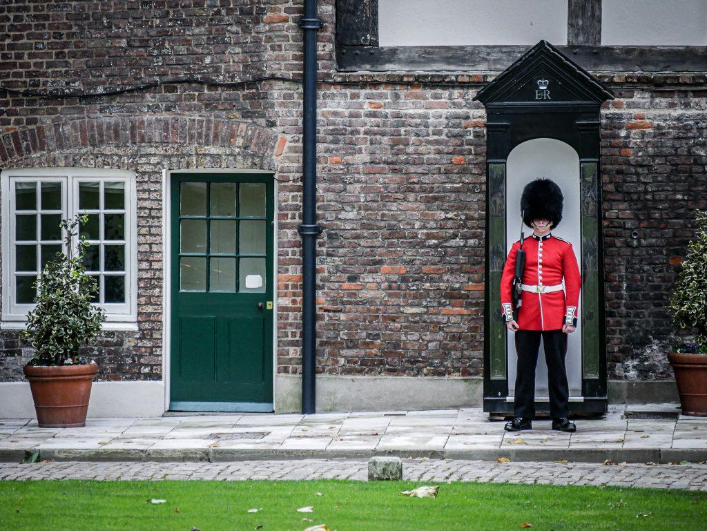 Tour de Londres - garde